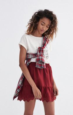 Duskway Eyelet Skirt