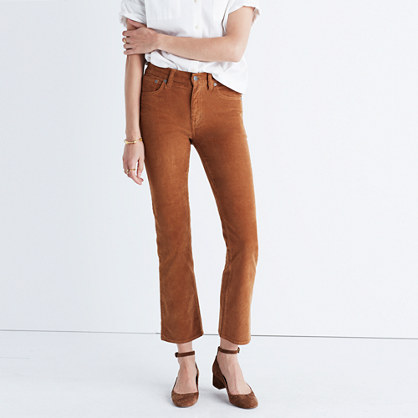 Cali Demi-Boot Jeans in Corduroy