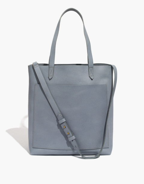 The Medium Transport Tote in grey feather image 1