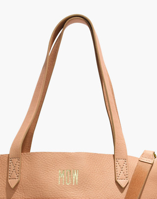 The Medium Transport Tote in linen image 3