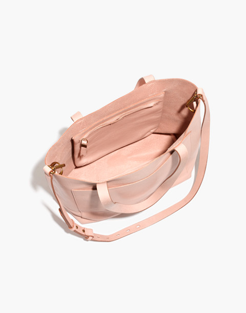 The Medium Transport Tote in sheer pink image 2