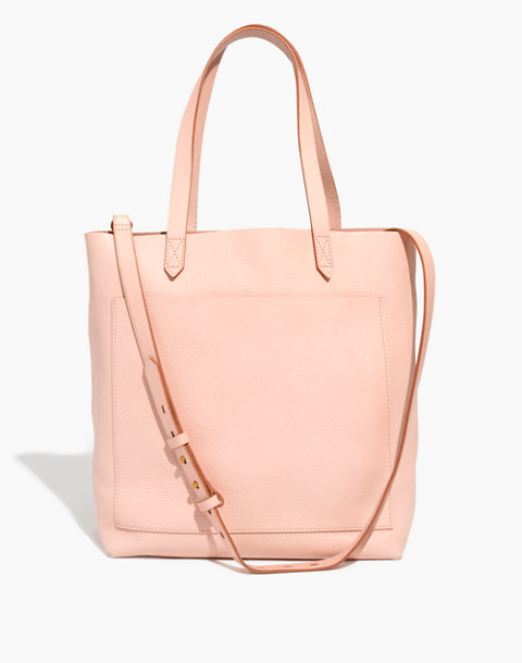 The Medium Transport Tote in sheer pink image 1