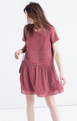 Silk Ascot Tile Dress