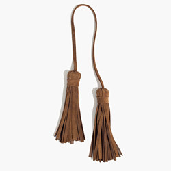 Leather Tassel Tie