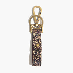 Front Door Key Fob in Calf Hair