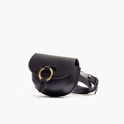 The Lisbon O-Ring saddlebag Pouch Belt