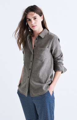 Flannel Shrunken Ex-Boyfriend Shirt