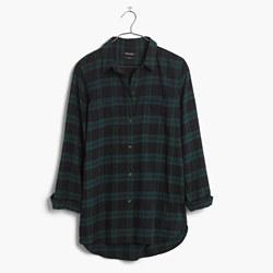 Classic Ex-Boyfriend Shirt in Dark Plaid