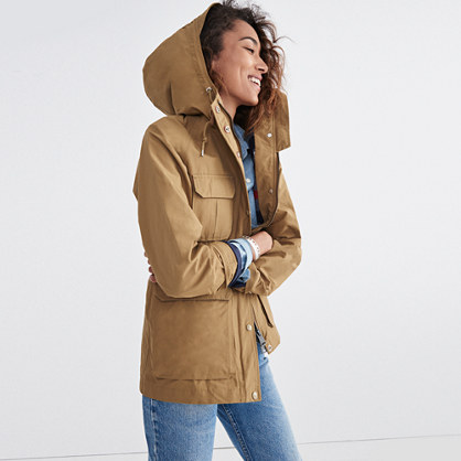 Madewell x Penfield® Kasson Parka in Tan