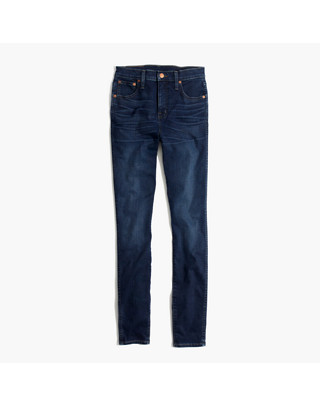 """Tall 10"""" High-Rise Skinny Jeans in Hayes Wash"""