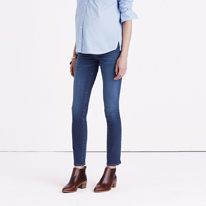 Maternity Skinny Jeans in Juliet Wash