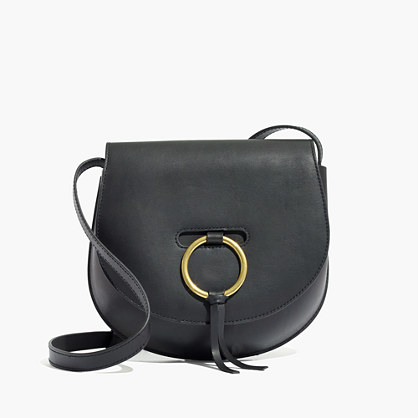 The Lisbon O-Ring Saddlebag in Leather