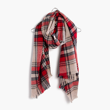 Scottsdale Plaid Scarf
