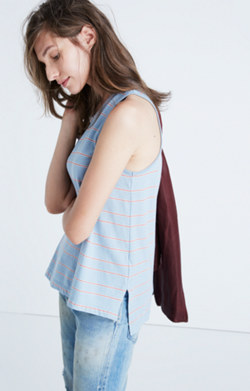 Airtime Tank Top in Marengo Stripe