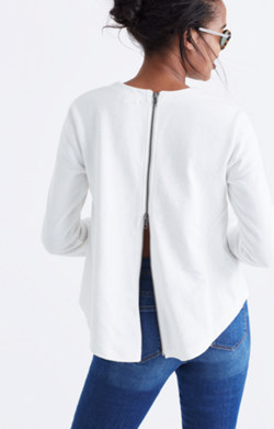 Comeback Zip-Back Top
