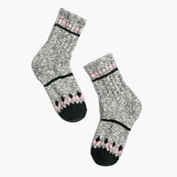 Marled Diamond Trouser Socks