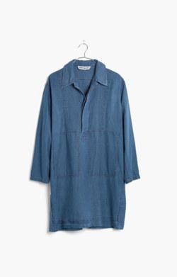 Caron Callahan™ Indigo-Dyed William Dress