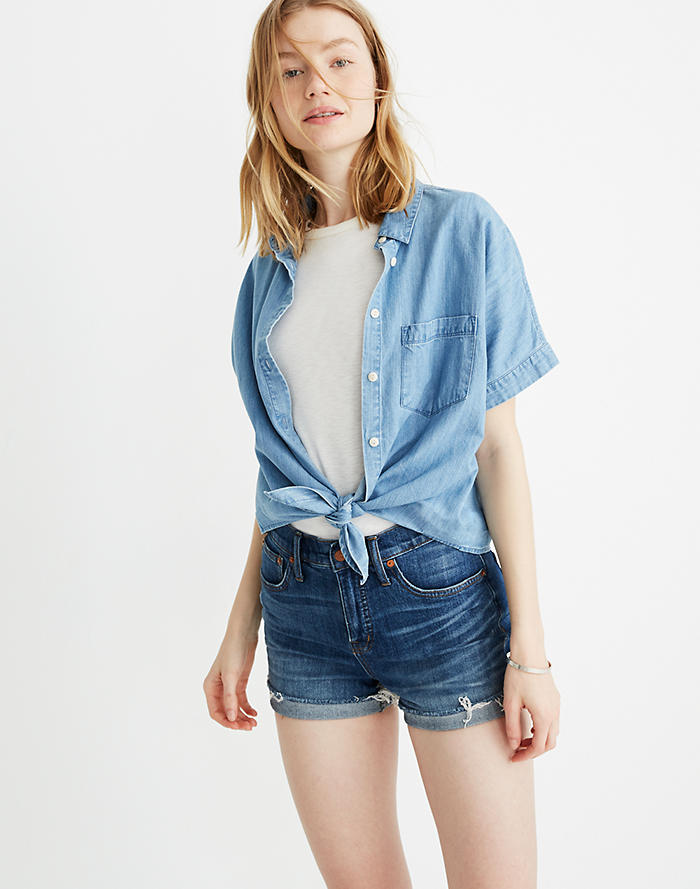 d7fc0166c6 Women's Shorts : Denim & Linen Cutoffs & Shorts | Madewell