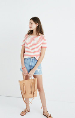 Madewell x Armor-Lux® Short-Sleeve Striped Tee