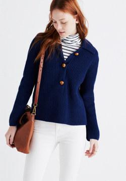 Caron Callahan™ Felicity Henley Sweater