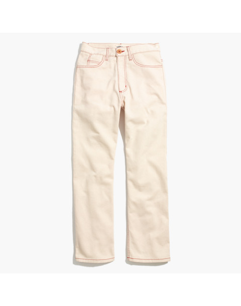 Caron Callahan™ Joni Five-Pocket Jeans in natural denim image 4