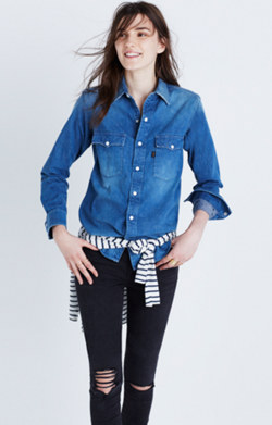 Chimala® Denim Ranch Shirt
