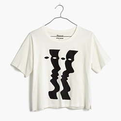 Madewell x James Ulmer Four Faces Tee