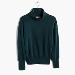 Rivet & Thread LA Turtleneck Sweatshirt: Garment-Dyed Edition