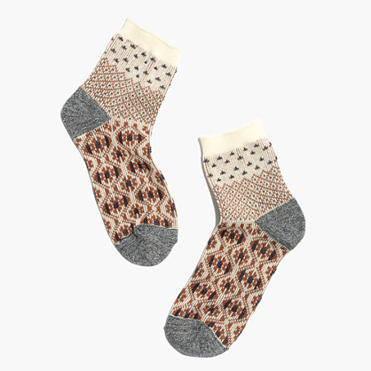 Tapestry Mix Ankle Socks