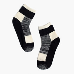 Patchwork Pattern Ankle Socks