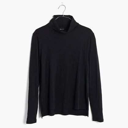 Whisper Cotton Turtleneck