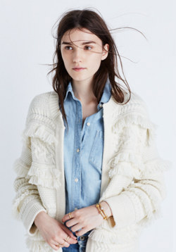 Desert Valley Fringe Cardigan Sweater