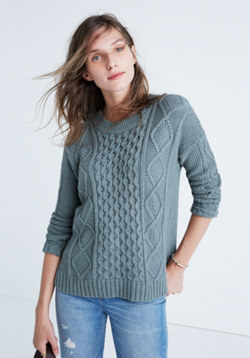 Classic Cable Pullover Sweater