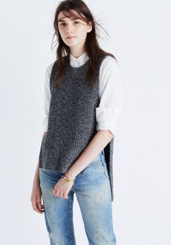 Open-Side Sweater-Vest