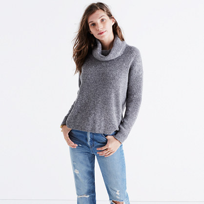 Donegal Convertible Turtleneck Sweater : pullovers | Madewell