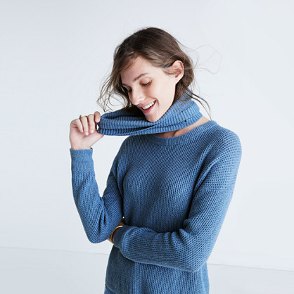 Convertible Turtleneck Sweater : pullovers | Madewell