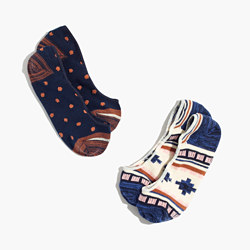Two-Pack Southwest Low Profile Socks