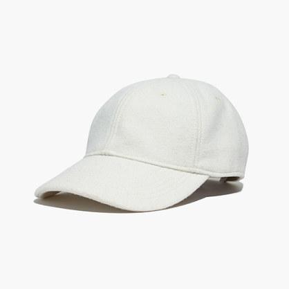 Wool-Blend Baseball Hat