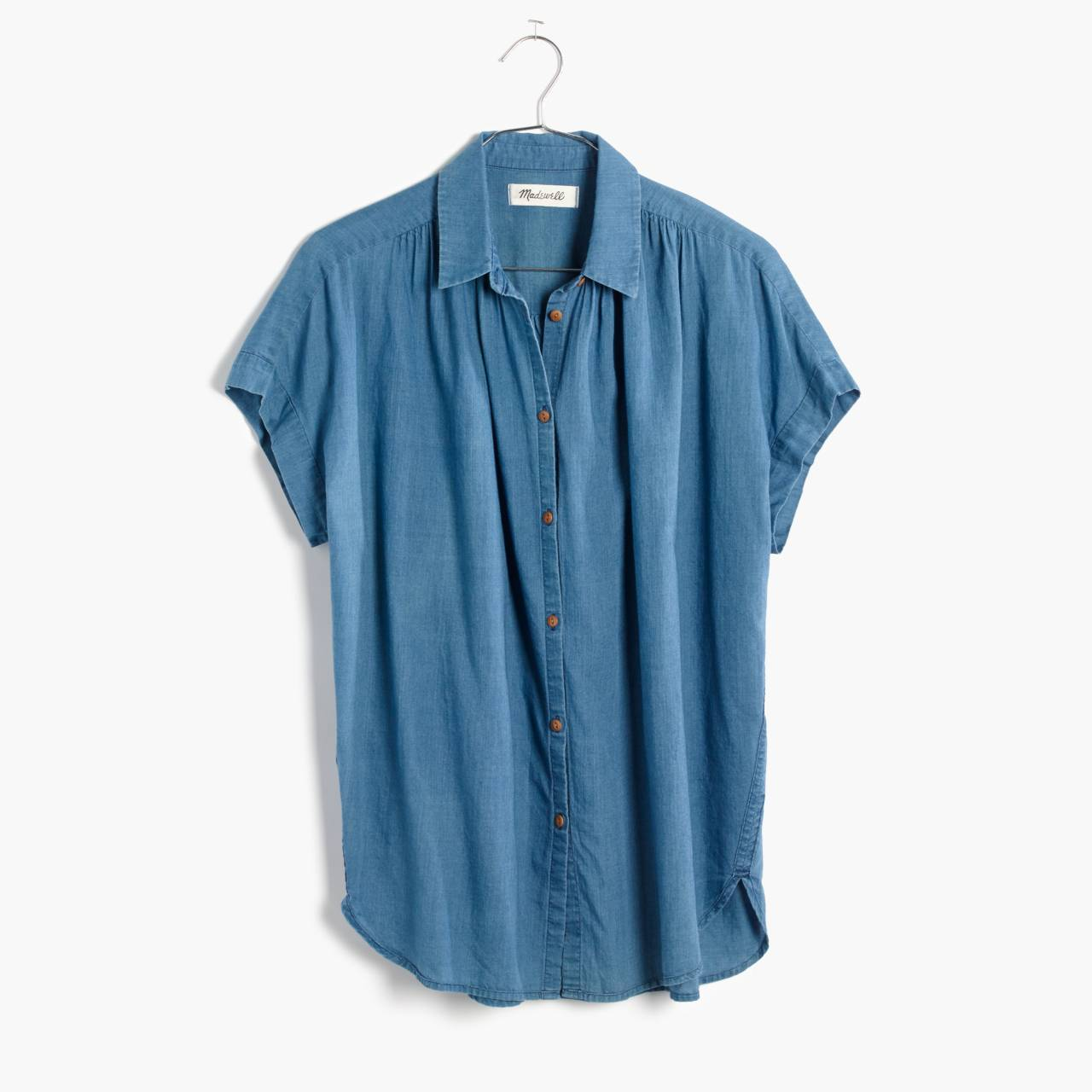 Central Shirt in Bright Indigo in bright indigo image 4