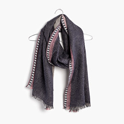 Quiltweave Stitched Scarf