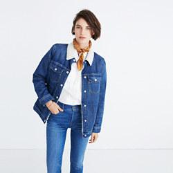 The Oversized Jean Jacket: Sherpa Edition