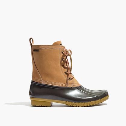 Madewell x G.H. Bass & Co. Mallard Duck Boots