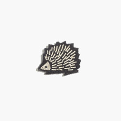 Macon & Lesquoy Hand-Embroidered Pin