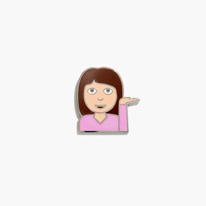 Pintrill® Emoji Pin