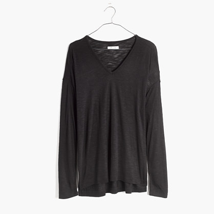 Anthem Long-Sleeve V-Neck Tee