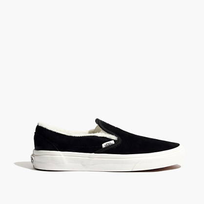 Vans® Unisex Weatherized Suede Slip-On Sneakers