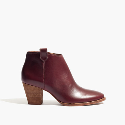 The Billie Boot in Dark Cabernet