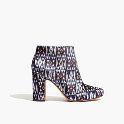 The Nealy Boot in Print Velvet
