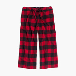 Flannel Bedtime Pajama Pants in Buffalo Check