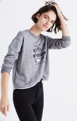 Big Sky Cutoff Sweatshirt